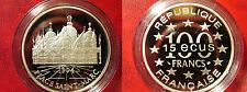 1994 France Large Silver Proof  100 Fr/15 Ecu Saint Marc Square-Venice