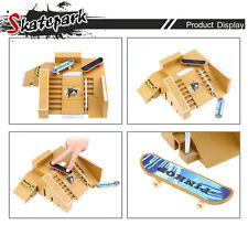 5pcs Skate Park Kit Ramp Parts for Tech Deck Finger Board