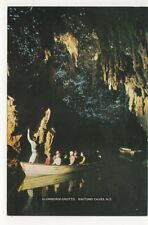 Glowworm Grotto Waitomo Caves New Zealand 1986 Postcard 931a