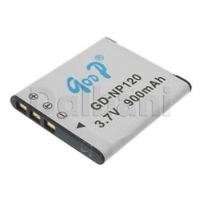 GD-NP120 New Rechargeable Camera Battery 3.7V 900 mAh for Casio