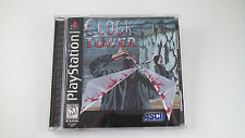 Clock Tower  --  Sony Playstation 1 PS1 Game Complete  ***Guaranteed***
