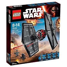 LEGO Star Wars First Order Special Forces TIE fighter 75101 NEW Insured Delivery