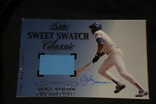 ANDRE DAWSON 2003 FLAIR GREATS SWEET SWATCH CLASSIC JUMBO SIGNED AUTOGRAPH CARD