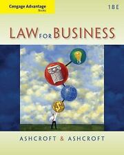Law for Business by John D. Ashcroft and Janet Ashcroft (2013, Paperback)