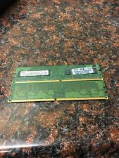 Used samsung DDR2 RAM set  (2 x 1GB) M378T2863EHS-CF7 1Rx8
