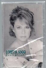 LORETTA GOGGI musicassetta originale MC7  PUNTI DI VISTA made in ITALY sigillata