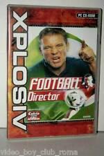 FOOTBALL DIRECTOR GIOCO USATO BUONO PC CD EDIZIONE ITALIANA XPLOSIV GD1 36313