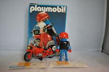Playmobil 3565 RENNFAHRER MOTORRAD Motorcycle rider MIB