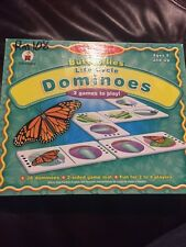 Butterflies Life Cycle Dominoes Carson Dellosa Publishing CD-140012