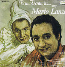 BRUNO VENTURINI sings MARIO LANZA - LP Ariston ox 3184 pop folk SIGILLATO sealed