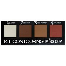 Kit contouring miss cop maquillage teint poudre ombre et lumière modeleur