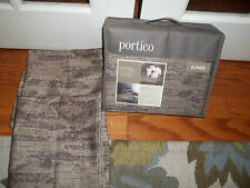 NIP Portico Rock River Organic Cotton King Duvet Cover Set 3pc