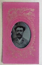 FERROTYPE PHOTO PORTRAIT HOMME O275