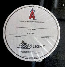 Coors light Beer Coasters  (Lot of 25)Proud Sponsor Of Angels Baseball ⚾️