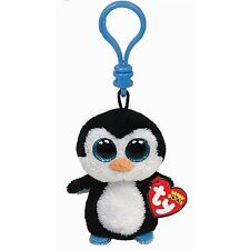 Ty Beanie Boos Waddles the Penguin Boo Key Clip 36505