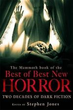 TheMammoth Book of the Best of Best New Horror by Jones, Stephen ( Author ) ON M