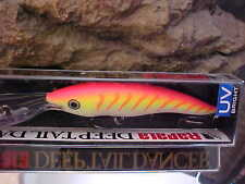 Rapala Deep Tail Dancer TDD11 PTU in PINK TIGER UV for Walleye/Bass/Pike/Zander