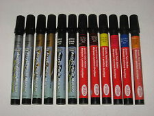 12 NEW TESTORS ACRYLIC PAINT MARKER PENS MODELS CRAFTS DETAILING TOUCH UP FIGURE