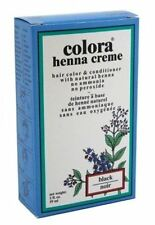 Colora Henna Creme Hair Color Black, 2 oz
