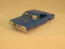 MODEL MOTORING BLUE '67 CHEVELLE SHELL ~ NEW! ~ FITS AURORA TJET