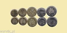 MAROCCO set of 5 coins UNC