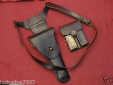 Korea US Army 1911 Colt Holster Enger-Kress 1946 1948 w/Rare Shoulder Straps
