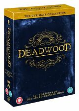 "DEADWOOD COMPLETE SERIES COLLECTION 1-3 DVD BOX SET 12 DISC R4 ""NEW&SEALED"""