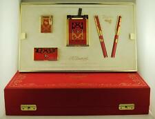 S.T. Dupont Limited Edition Teatro Red Lacquer Five Piece Collector Set 11/200