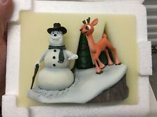 """Rudolph & The Island of Misfit Toys Rudolph & Scoop Figurine 5.5"""" X 4"""" New"""
