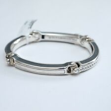 New DAVID YURMAN Men's Silver Universal Bolt Link Bracelet Medium $750