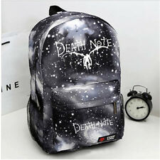 Anime Death Note School Bag Zipper Rucksack Backpack Star Camouflage bag