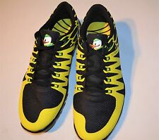 NEW NIKE FREE TRAINER 5.0 V6 AMP SIZE 12 OREGON DUCKS RUNNING SHOES YELLOW BLACK