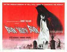 Burn Witch Burn Poster 02 A2 Box Canvas Print