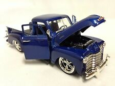 1953 Chevrolet 3100 Pickup Truck,1:24 Diecast, Collectible, Jada Toys, Blue, DSP