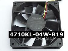 NMB 4710KL-04W-B19 Mute Double ball cooling fan DC12V 0.16A 120*120*25mm 3pin