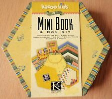 K&Co Kazoo Kids Mini Album Book Kit in Box, Papers & Embellishments, retro