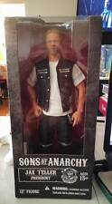 "Mezco Sons of Anarchy Jax Teller President Biker gang club Harley 12"" figure 1:6"