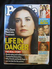 DEMI MOORE  February 13, 2012 People Magazine JENNIFER ANISTON  PAULA ABDUL