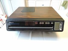 RCA SFT100W Selectavision Video Disc CED Player For Parts NEEDS CARTRIDGE