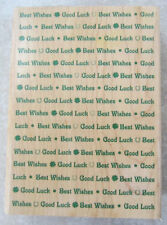 Hampton Art Stamps Good Luck And Best Wishes  Wooden Rubber Stamp