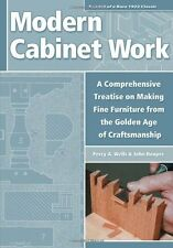 MODERN CABINET WORK Woodworking Book Cabinet Makers Bible Caninetmaker Wood