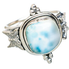 Larimar Butterfly 925 Sterling Silver Ring Size 9 Ana Co Jewelry R797223F