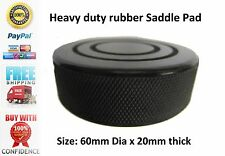 CLARKE Hydraulic Trolley Car Jack Black Rubber Saddle Pad 60mm x 20mm