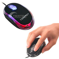 Mini 800DPI USB Optical Mouse Mice 3D Trackball for Laptop Desktop Ultra-Smooth