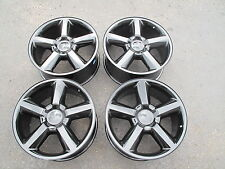 "22"" CHEVROLET 1500 SILVERADO TAHOE SUBURBAN FACTORY SPEC BLACK WHEELS RIMS 5308"