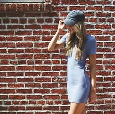 Last one!  brandy melville Periwinkle Blue  stretchy Jenelle shirtdress top