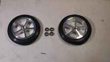 BRP, RC Dragster Aluminum Front Tires and Wheels, Traxxas, Losi, HPI, IRP