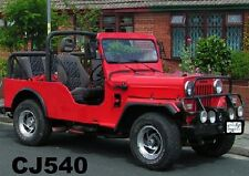 STITCHED SOFT TOP FOR JEEP MAHINDRA CJ540  BLACK & GRAY