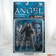 Angel Faith in black leather jacket by Moore Action Collectibles action figure