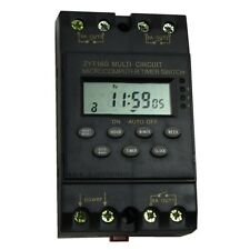 220V New 8Ax3 Channel Automatic Program Programmable Timer Switch